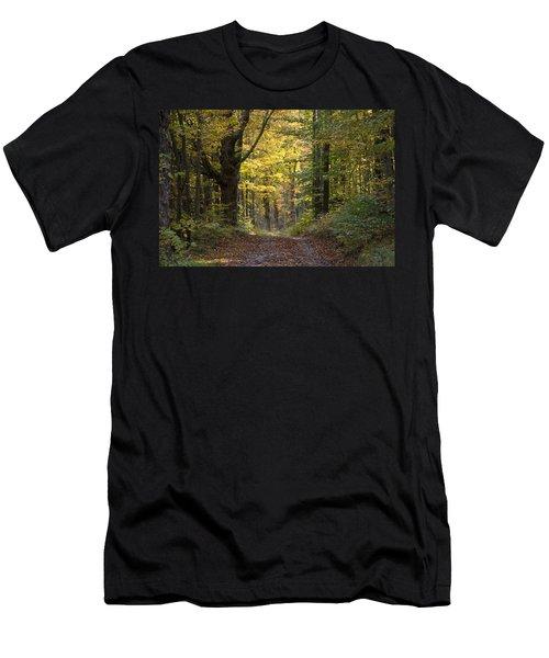 Sunrise Road Men's T-Shirt (Athletic Fit)