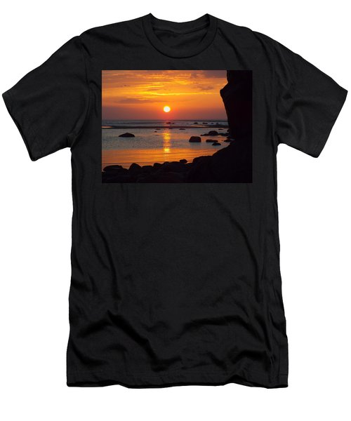 Men's T-Shirt (Slim Fit) featuring the photograph Sunrise Therapy by Dianne Cowen