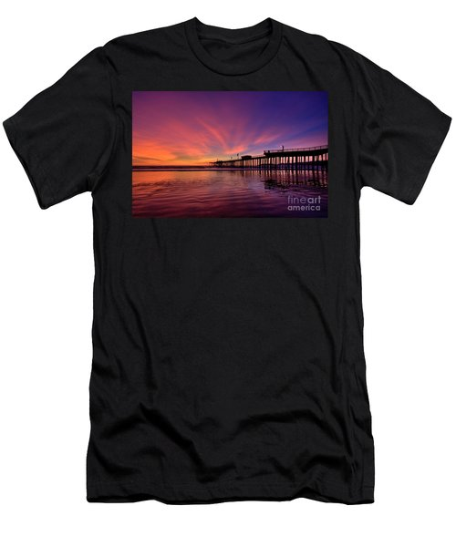 Sunset Afterglow Men's T-Shirt (Athletic Fit)
