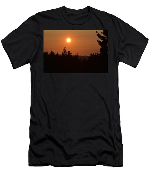 Sunset At Owl's Head Men's T-Shirt (Athletic Fit)