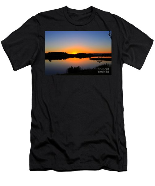 Sunset At The James M. Robb State Park Men's T-Shirt (Athletic Fit)