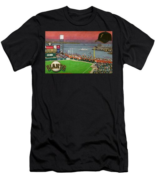 Sunset At The Park Men's T-Shirt (Athletic Fit)