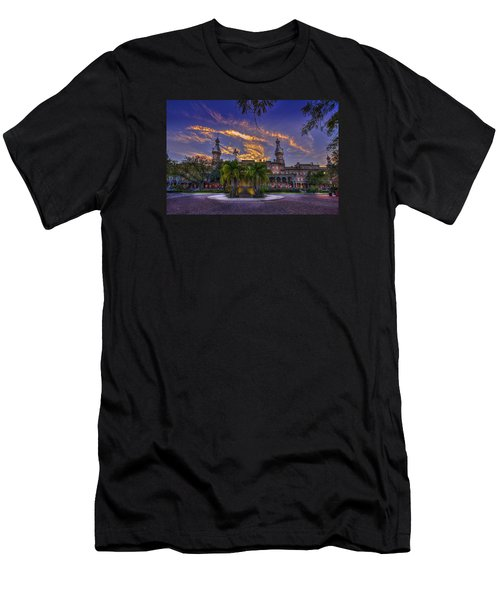 Sunset At U.t. Men's T-Shirt (Athletic Fit)