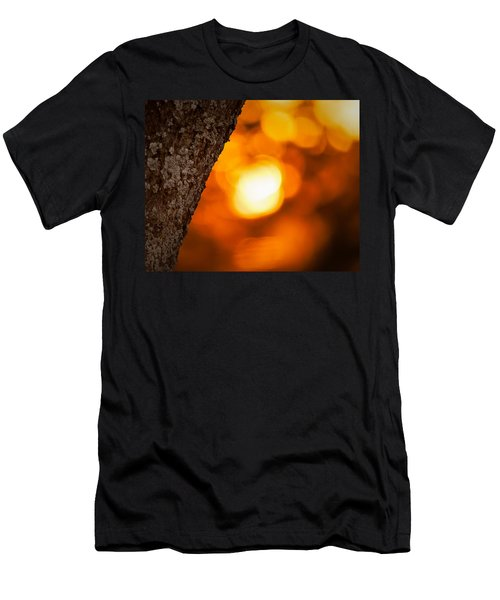 Sunset Bokeh Men's T-Shirt (Athletic Fit)
