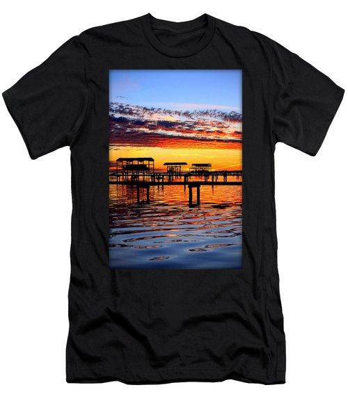 Sunset Breeze Men's T-Shirt (Athletic Fit)