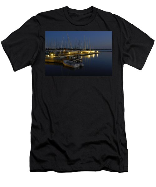 Sunset Dock Men's T-Shirt (Athletic Fit)