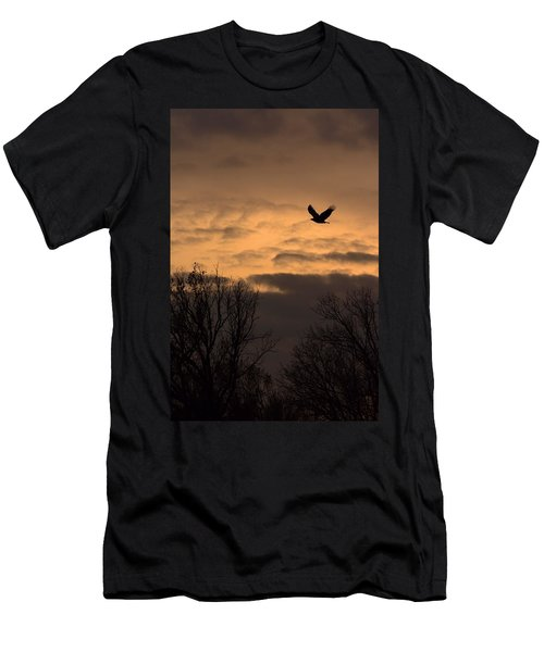 Sunset Eagle Men's T-Shirt (Athletic Fit)
