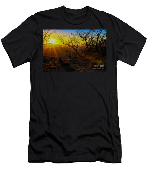 Sunset From Blood Mountain Men's T-Shirt (Athletic Fit)