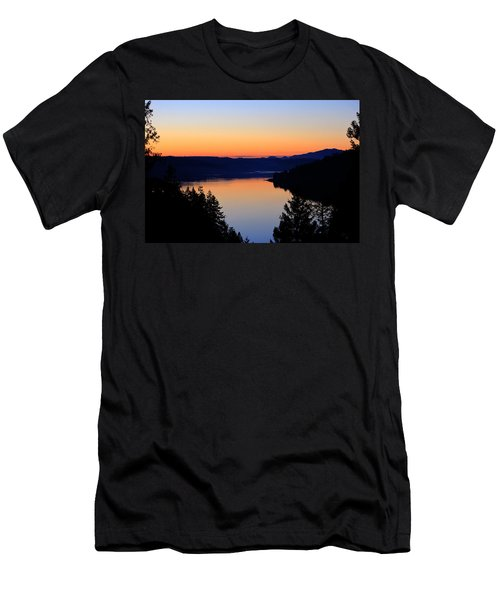 Sunset From The Deck Men's T-Shirt (Athletic Fit)