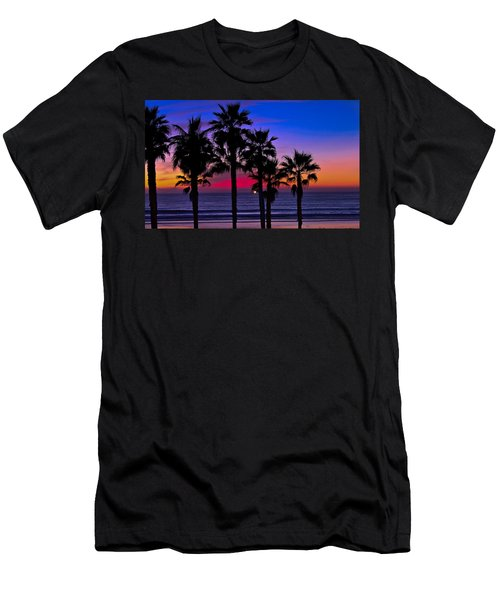 Sunset From The Ocean Park Inn Men's T-Shirt (Athletic Fit)
