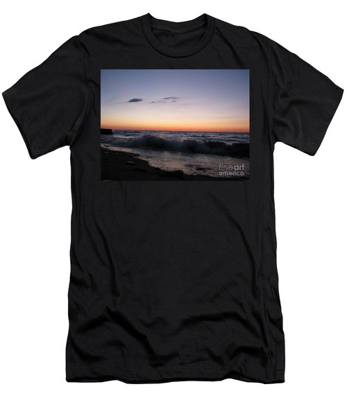 Sunset II Men's T-Shirt (Slim Fit) by Michael Krek