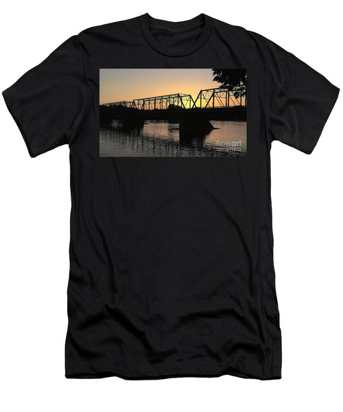 Sunset In June Men's T-Shirt (Athletic Fit)