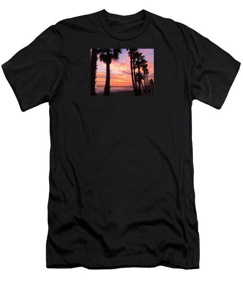 Sunset In San Clemente Men's T-Shirt (Athletic Fit)