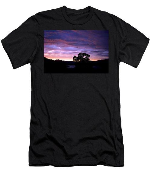 Sunset Lake Men's T-Shirt (Slim Fit) by Matt Harang