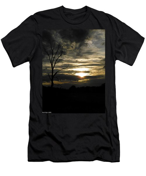 Sunset Of Life Men's T-Shirt (Athletic Fit)