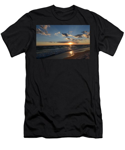 Sunset On Alys Beach Men's T-Shirt (Slim Fit) by Julia Wilcox