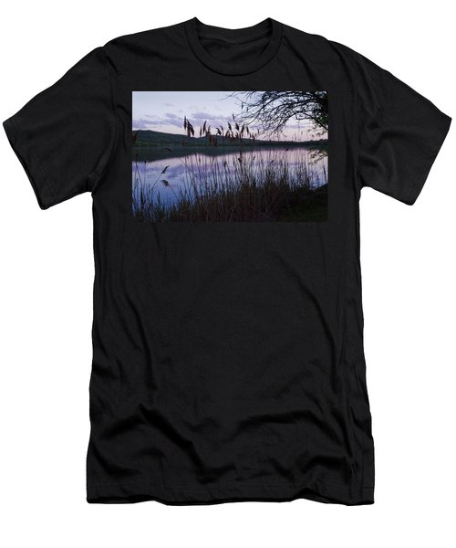 Sunset On Rockland Lake - New York Men's T-Shirt (Athletic Fit)