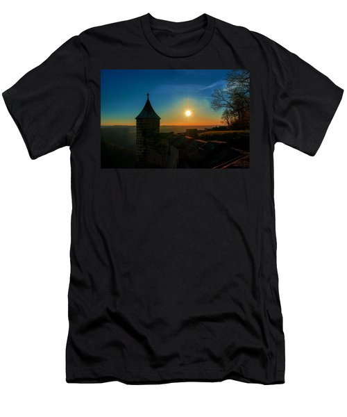 Sunset On The Fortress Koenigstein Men's T-Shirt (Athletic Fit)