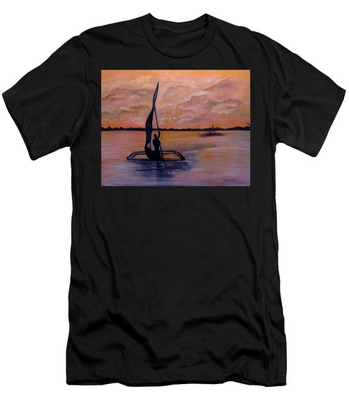 Sunset On The Nile Men's T-Shirt (Athletic Fit)