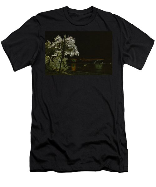 Men's T-Shirt (Slim Fit) featuring the photograph Sunset On Tioman Island by Sergey Lukashin