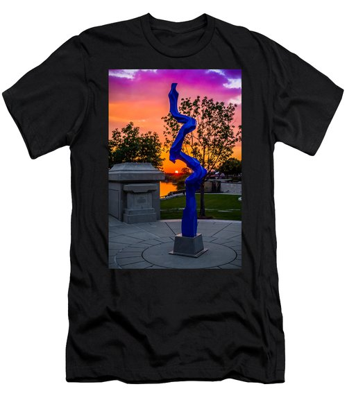 Sunset Sculpture Men's T-Shirt (Athletic Fit)