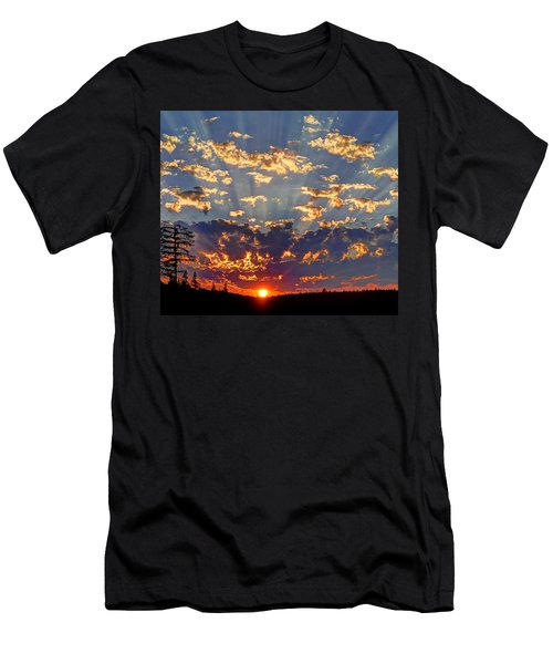 Sunset Spectacle Men's T-Shirt (Athletic Fit)