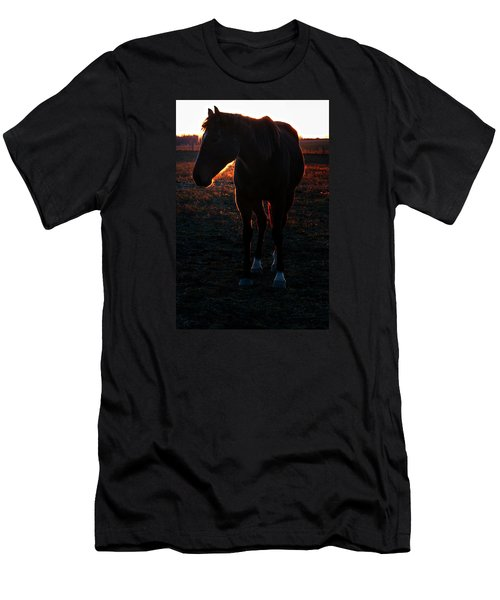Men's T-Shirt (Slim Fit) featuring the photograph Sunset Splendor by Robert McCubbin