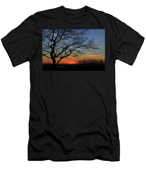 Sunset Tree In Ocean City Md Men's T-Shirt (Athletic Fit)