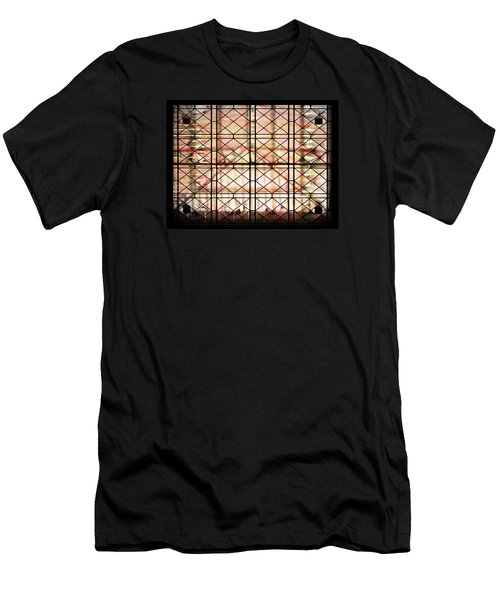 Men's T-Shirt (Slim Fit) featuring the photograph Sunset Window by Paula Ayers