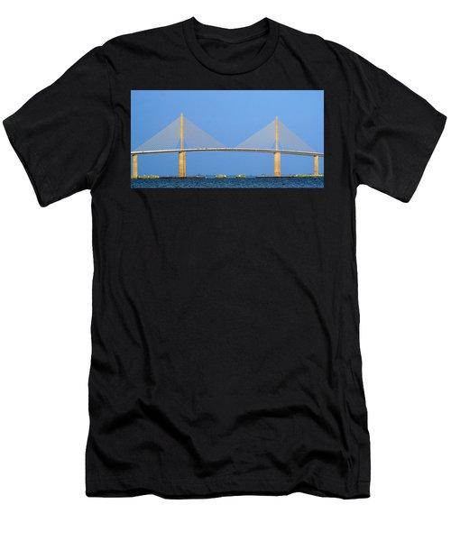 Sunshine Skyway Panorama Men's T-Shirt (Athletic Fit)