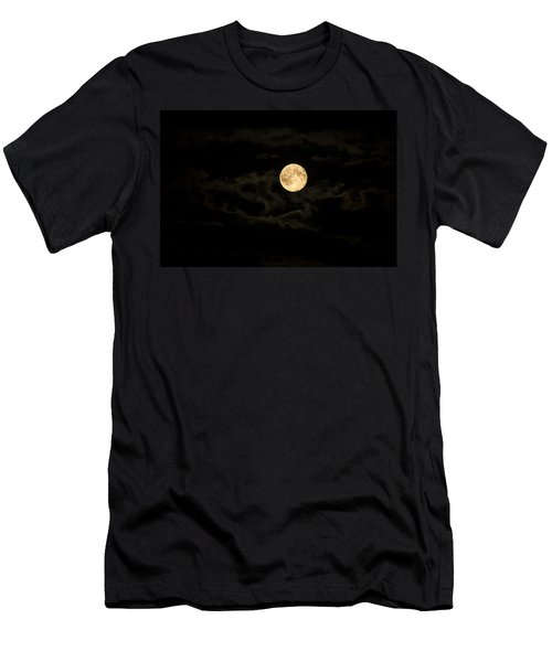 Super Moon Men's T-Shirt (Slim Fit) by Spikey Mouse Photography