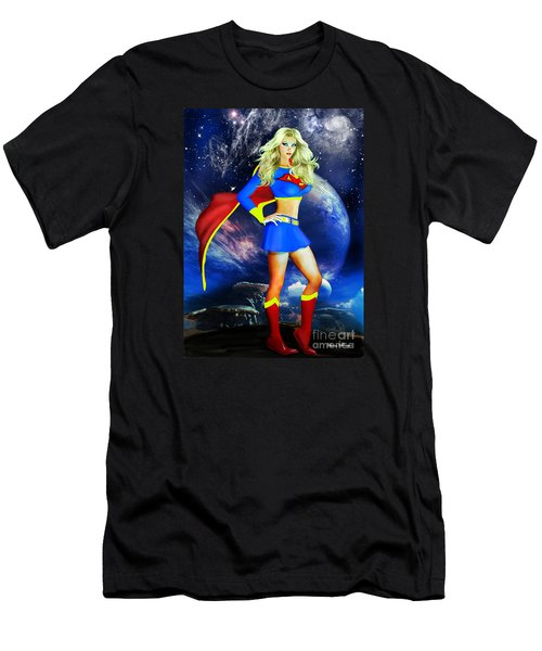 Supergirl Men's T-Shirt (Athletic Fit)