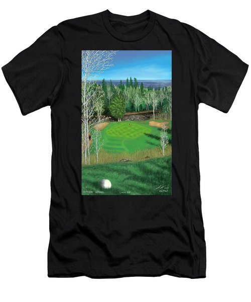 Superior National Golf Canyon 8 Men's T-Shirt (Athletic Fit)