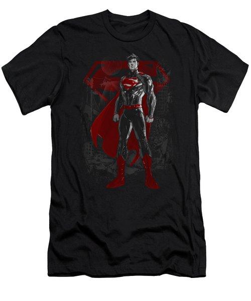 Superman - Aftermath Men's T-Shirt (Athletic Fit)