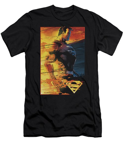 Superman - Fireproof Men's T-Shirt (Athletic Fit)