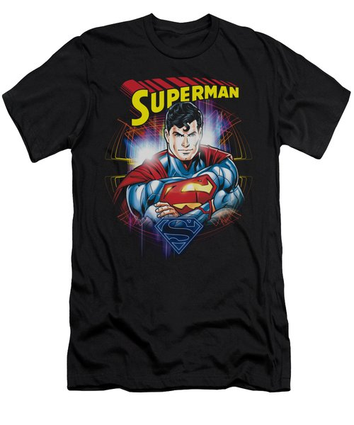 Superman - Glam Men's T-Shirt (Athletic Fit)