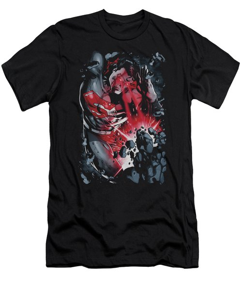 Superman - Heat Blast Men's T-Shirt (Athletic Fit)