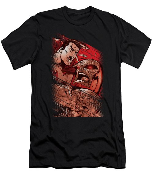 Superman - Supes Vs Darkseid Men's T-Shirt (Athletic Fit)