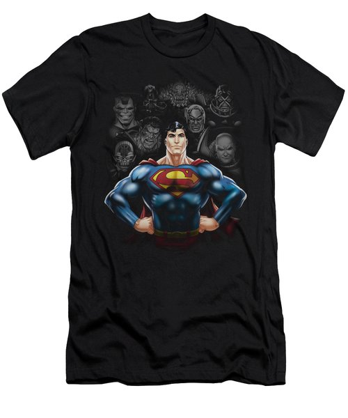 Superman - Villains Men's T-Shirt (Athletic Fit)