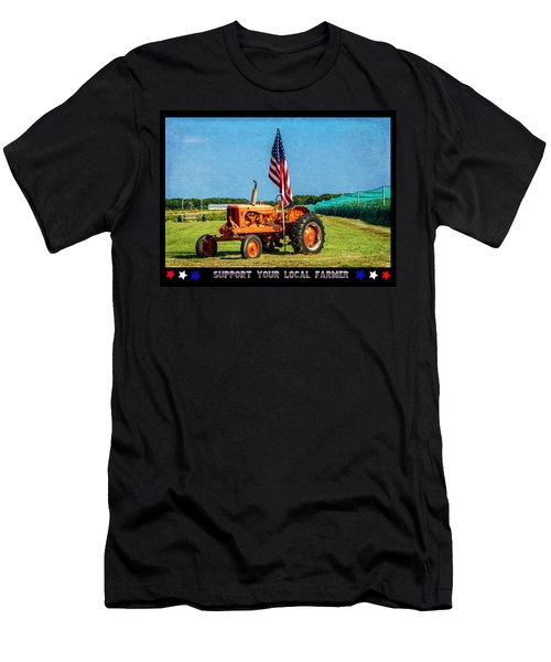 Support Your Local Farmer Men's T-Shirt (Athletic Fit)