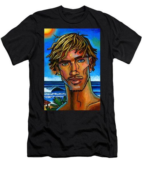 Surfer Dude Men's T-Shirt (Athletic Fit)