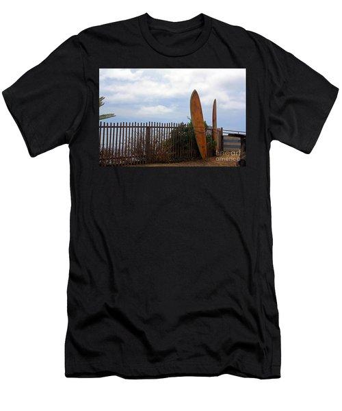 Surfs Up Men's T-Shirt (Athletic Fit)