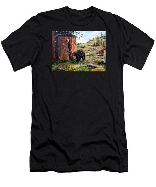 Surprise Visit Men's T-Shirt (Athletic Fit)