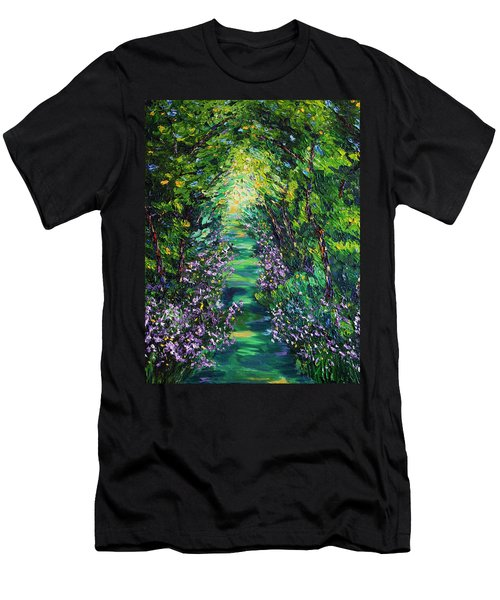 Men's T-Shirt (Slim Fit) featuring the painting Surrender by Meaghan Troup
