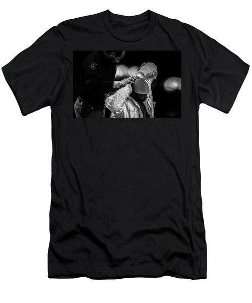 Suspect  Men's T-Shirt (Athletic Fit)