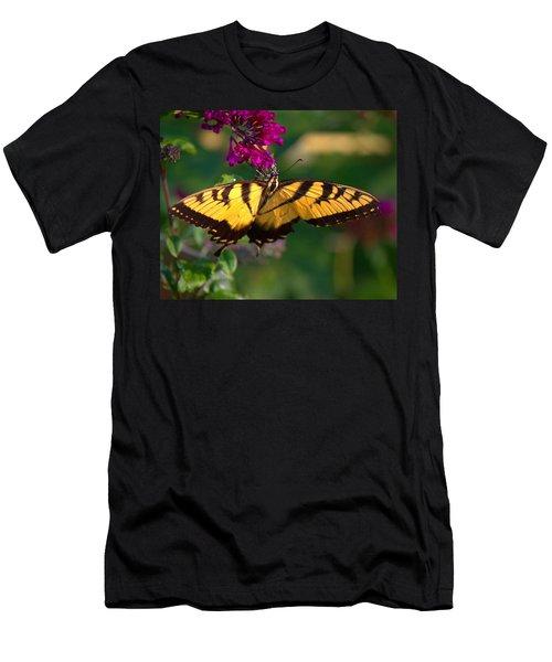 Swallowtail 1 Men's T-Shirt (Athletic Fit)
