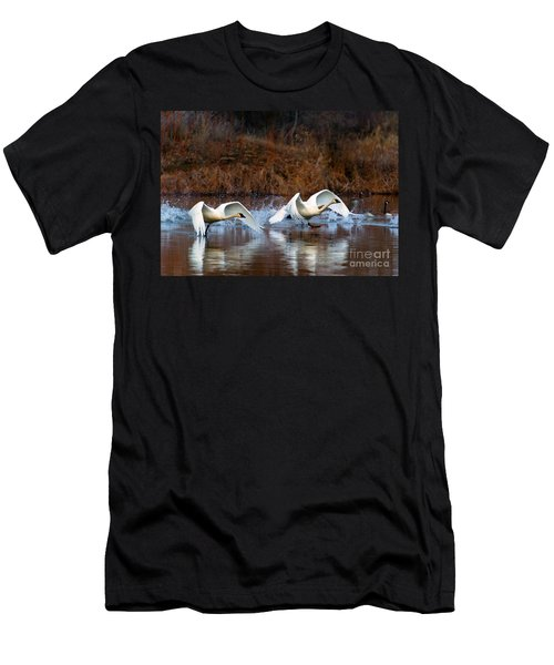 Swan Lake Men's T-Shirt (Athletic Fit)