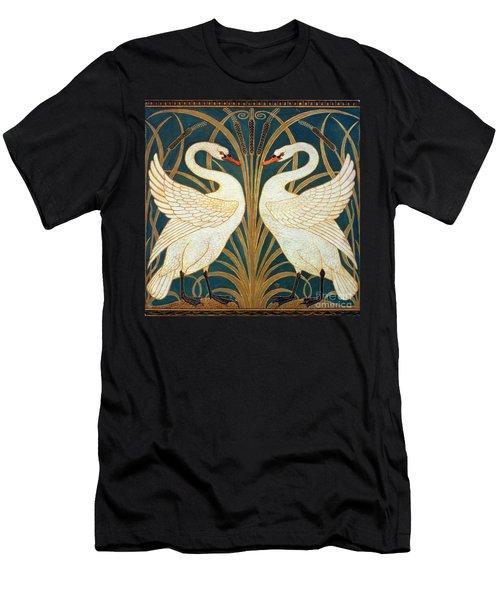 Swan Rush And Iris Men's T-Shirt (Athletic Fit)