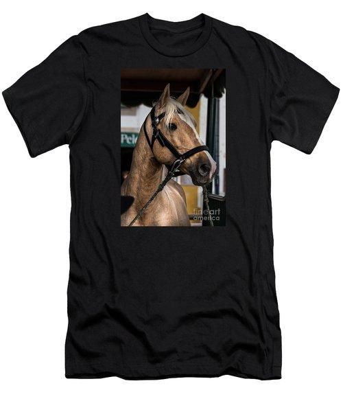 Men's T-Shirt (Slim Fit) featuring the photograph Sweet Caramel by Edgar Laureano