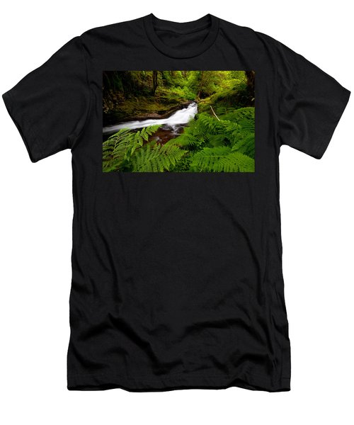 Sweet Creek Ferns Men's T-Shirt (Athletic Fit)